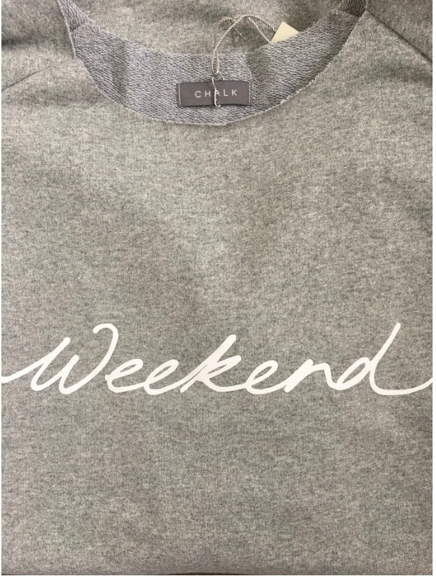 Chalk uk Layla Sweatshirt with Weekend