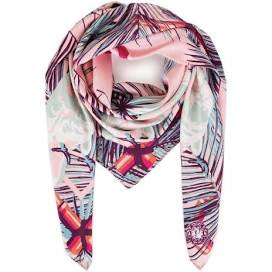 Cockatoo satin square scarf
