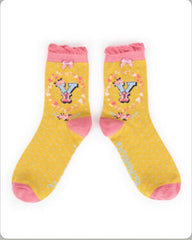 Alphabet ankle sock Y