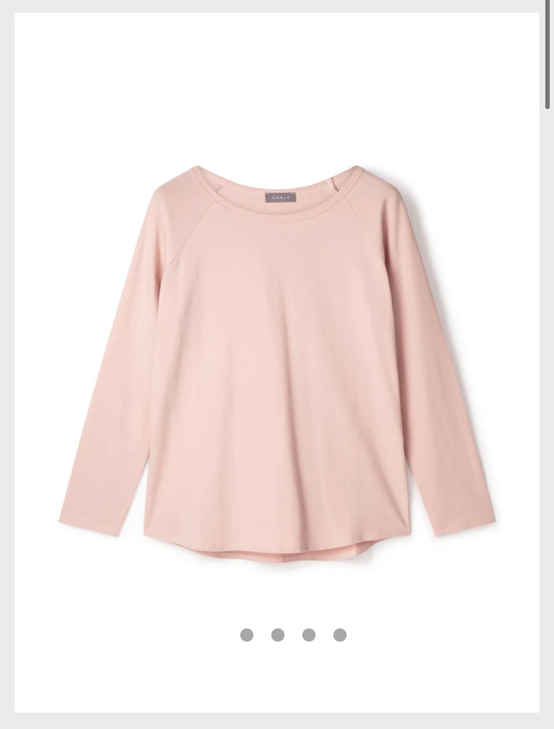 Tasha Top Dusky Pink Chalk