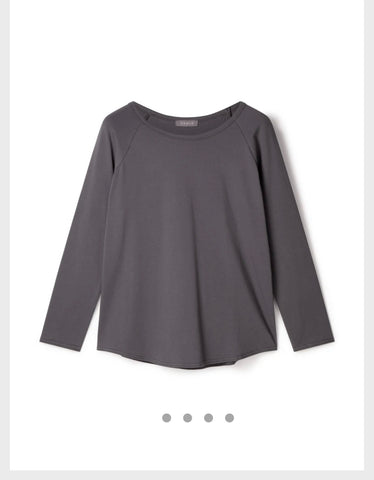 Tasha Top Charcoal Chalk
