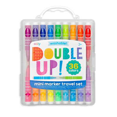 Double Up! 2-in-1 Mini Markers - Set of 36