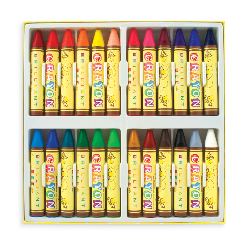 Brilliant Bee Crayons - Set of 24