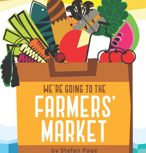 We're Going To The Farmer's Market Board Book