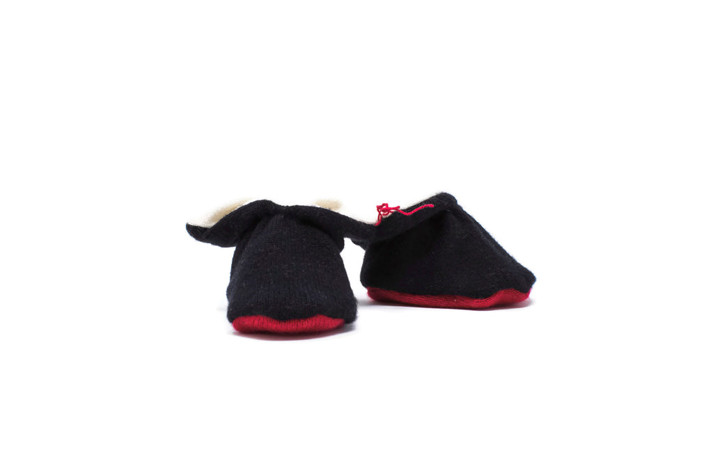 d1aa6065829 Cashmere Booties in Black Red Bottom