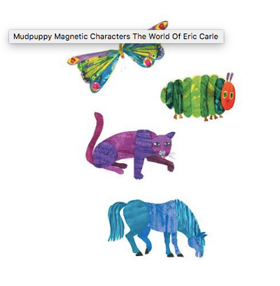 Magnetic Characters Set - The World of Eric Carle