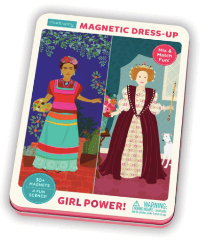 Magnetic Characters Set - Girl Power