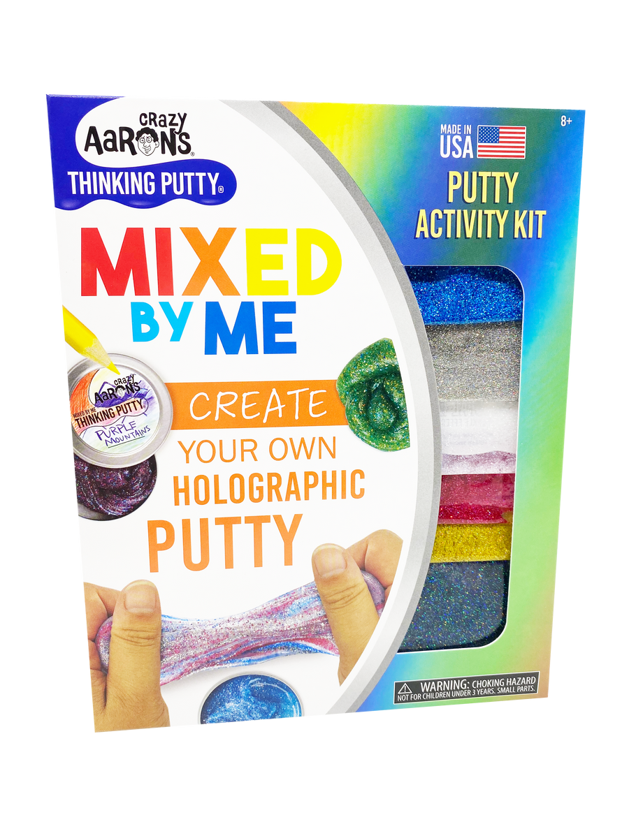 Mixed By Me Thinking Putty Kit - Holographic