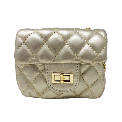 Mini Quilted Chain Bag
