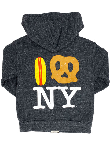 Hot Dog Pretzel NY Hoodie Big Sizes