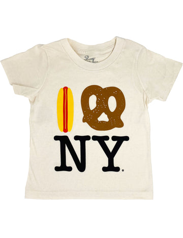 Hot Dog Pretzel NY Tee - Organic