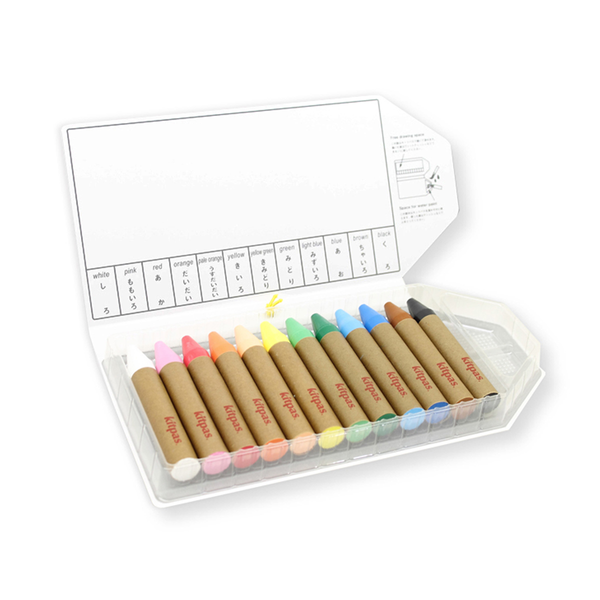 Large Crayons. Set of 12