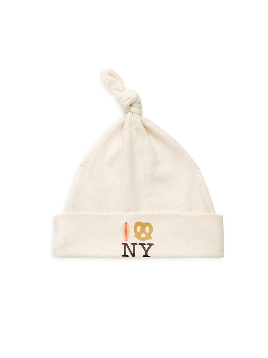 Hot Dog Pretzel NY Knot Hat - Natural