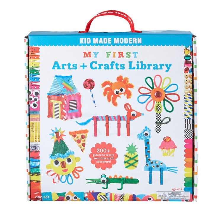 My First Arts & Crafts Library