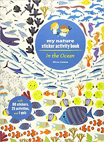 In the Ocean - My Nature Sticker Activity Book