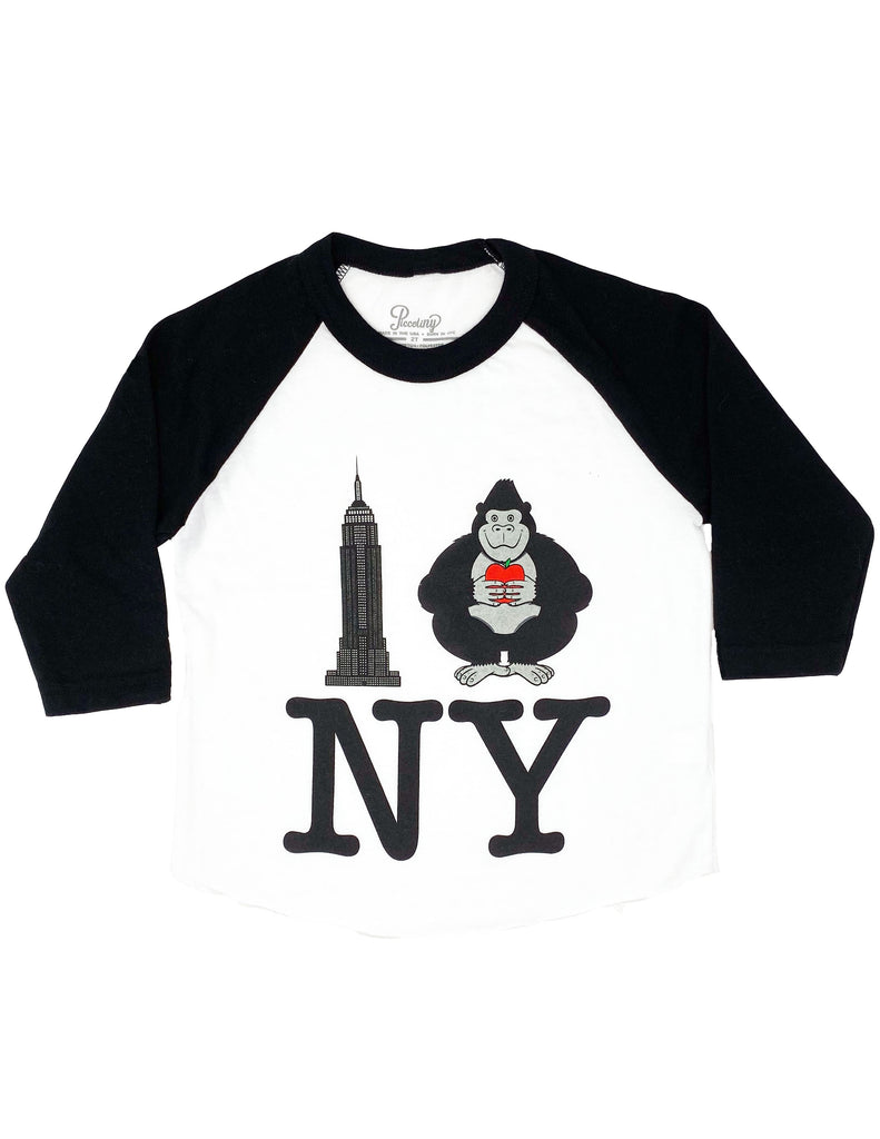 Empire Kong NY Baseball Tee