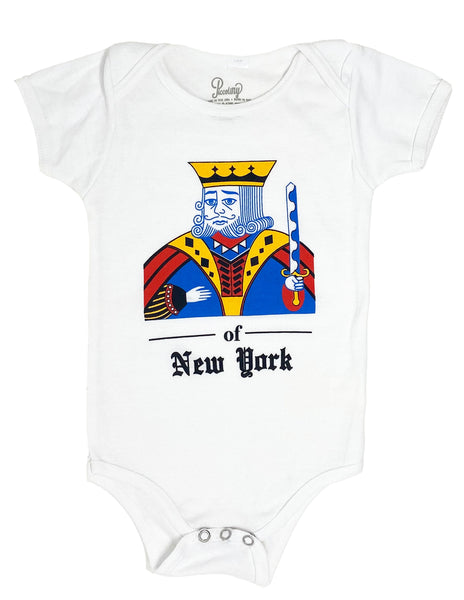 King of New York Onesie