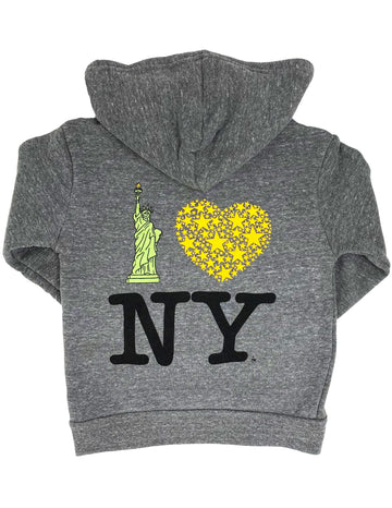 Lady Liberty NY Hoodie Big Sizes