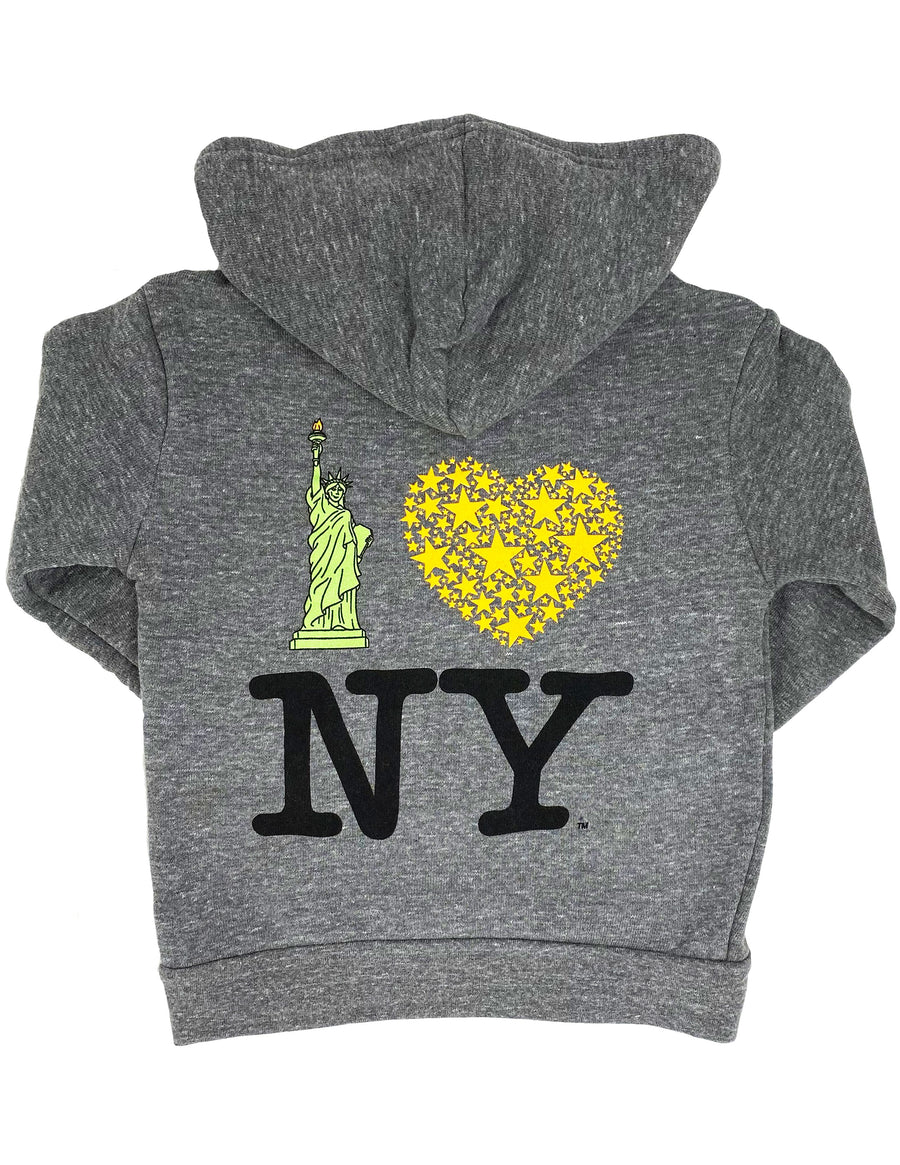 Lady Liberty NY Hoodie Little Sizes
