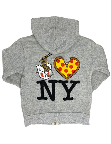 Lo Mein Pizza NY Hoodie Little Sizes