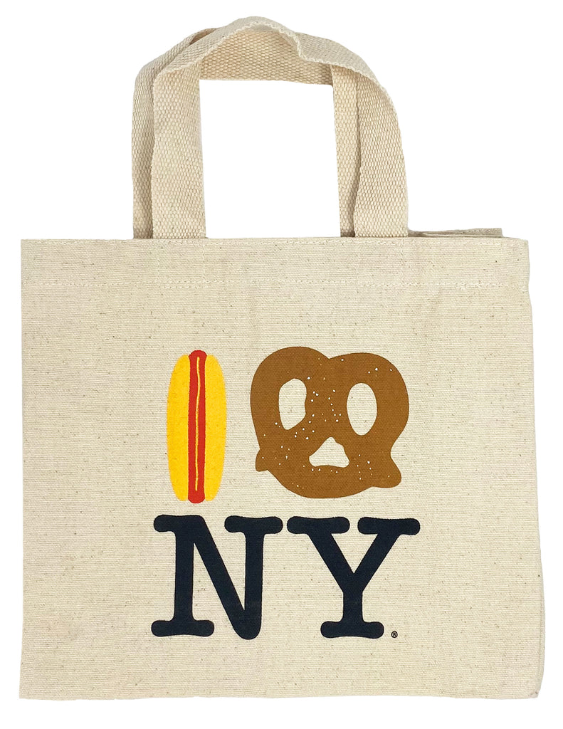 Hot Dog Pretzel NY Eco Mini Tote