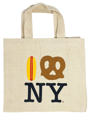Hot Dog Pretzel NY Mini Tote