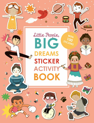 Little People, Big Dreams Sticker Activity Book