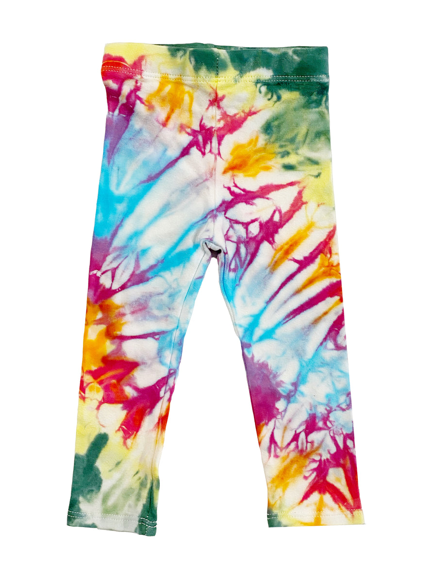 Tie Dye Leggings - Rainbow
