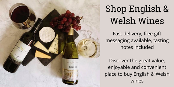 English white wine and English red wine - buy English and Welsh wine from The British Wine Cellar
