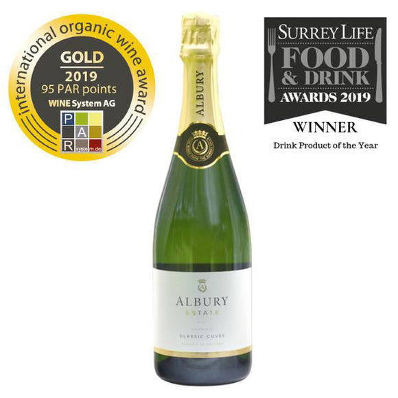 Albury Estate Classic Cuvée The British Wine Cellar