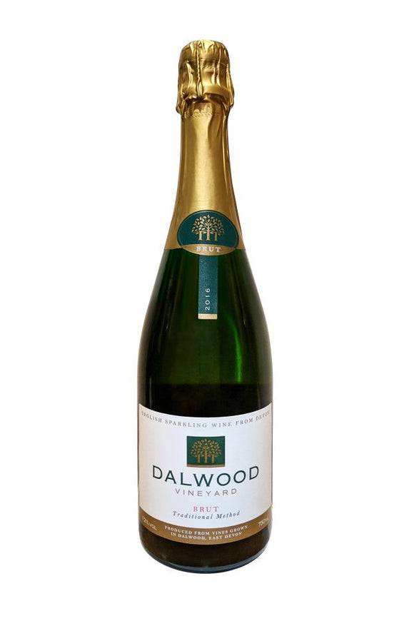 Dalwood Brut spakling wine from Devon