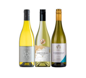 Three Chardonnay English White Wines from The British Wine Cellar