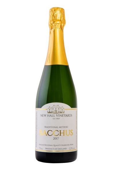 Newhall Sparkling Bacchus English Sparkling Wine from The British Wine Cellar