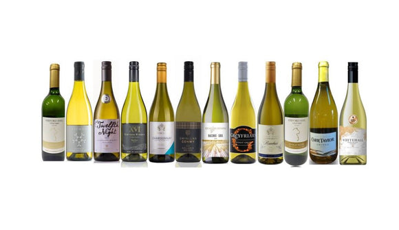 Case of English White Wines from The British Wine Cellar