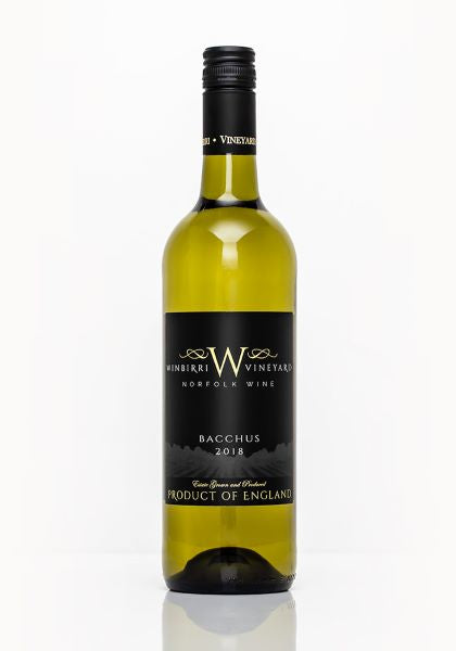 Winbirri Bacchus The British Wine Cellar English Wine