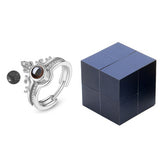 Creative Ring, Bracelet And Jewelry Box