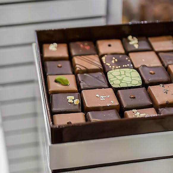Coffret assortiment de chocolats