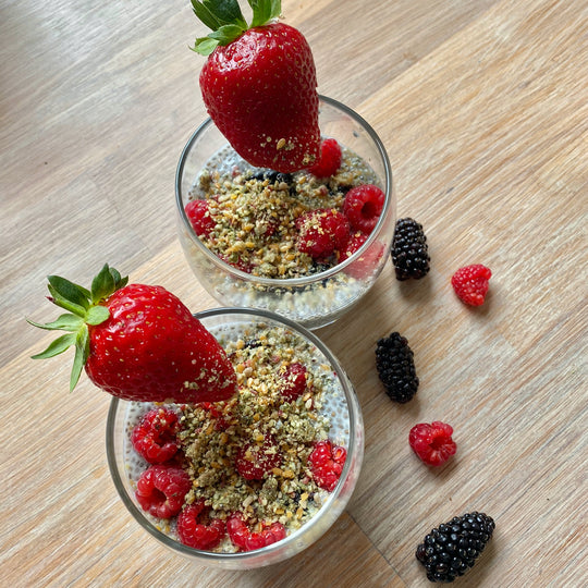 Chia Seed Berry Bowl