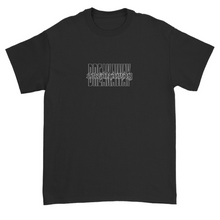 Load image into Gallery viewer, 2020 Stacked Black Tee