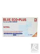 Blue Eco-Plus nitrile handschoenen