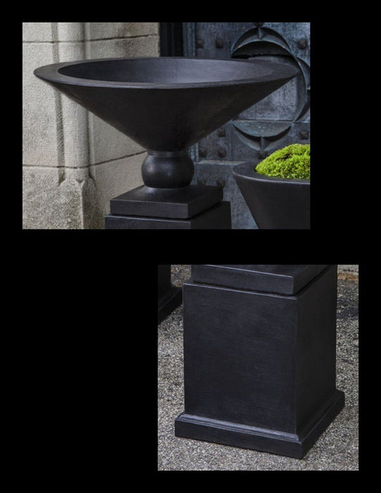 Martini Urn Small with Low Mini Pedestal