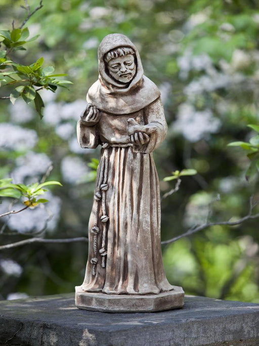 St Francis With  Birds Garden Statue