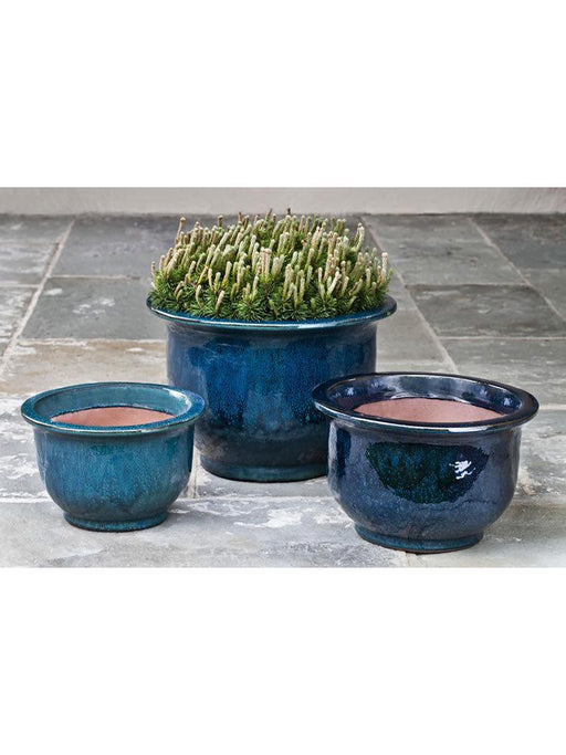 Alegre Planter Set of 3 in Indigo Rain