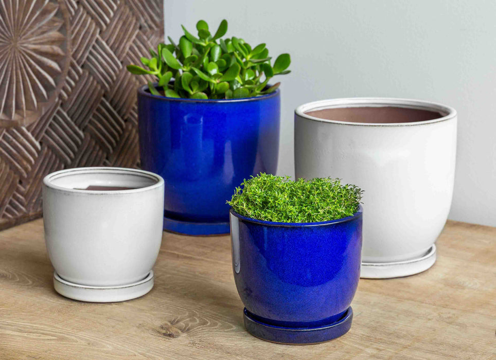 I/O Cup Medium Planter - Set of 6 in White