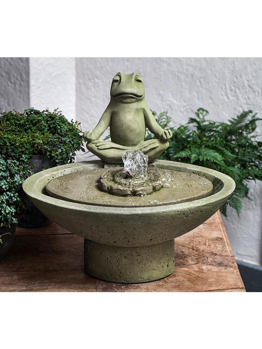 Garden Terrace Meditation Tabletop Fountain