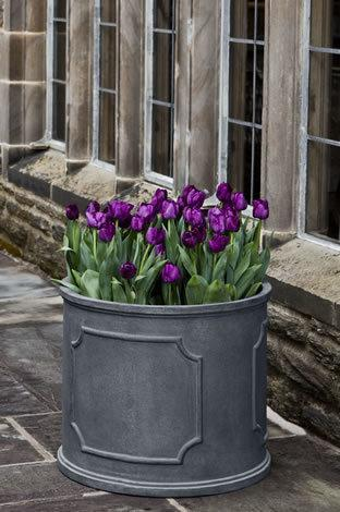 Portsmouth Round Planter  - Lead Lite