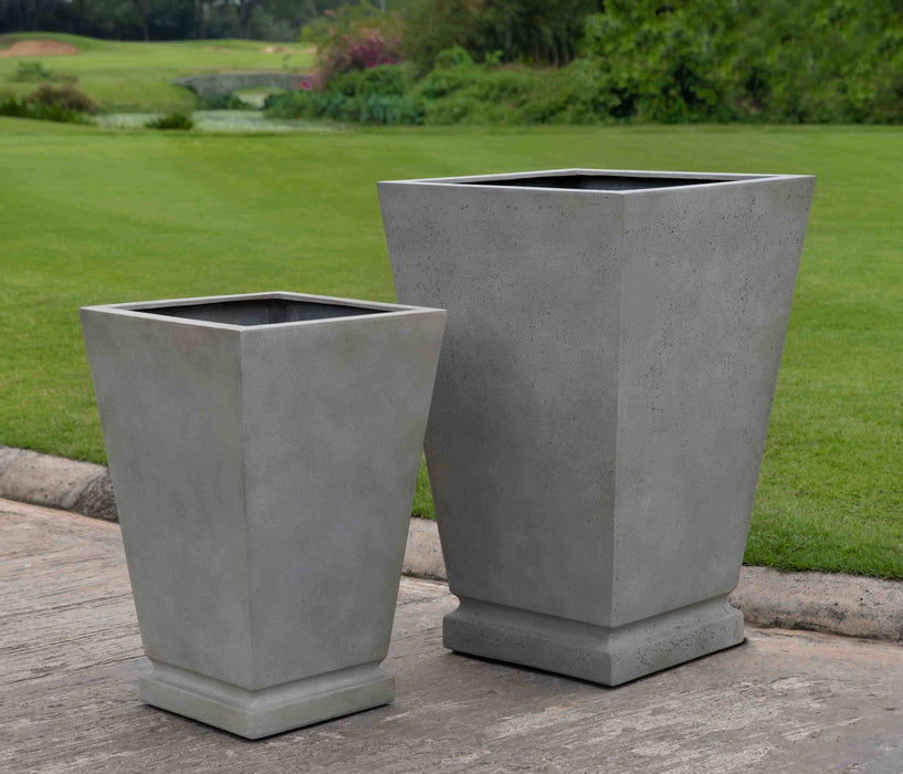 Westmere Planter - Small in Stone Grey Lite