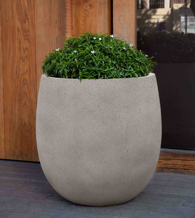 Large Guilford Planter in Stone Grey Lite