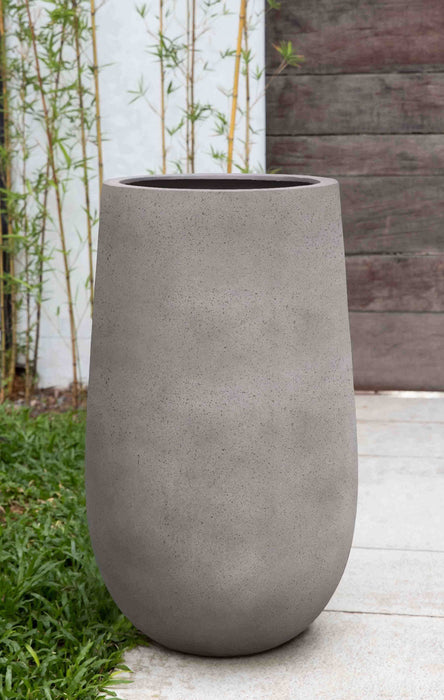 Large Mews Planter in Stone Grey Lite