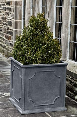 Cumberland Square Planter  - Lead Lite